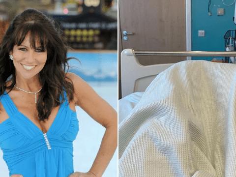 Linda Lusardi 'feeling a tiny bit stronger' amid coronavirus fight as husband shares health update