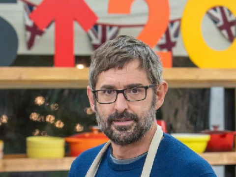 Louis Theroux makes Great British Bake Off history with Paul Hollywood