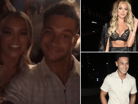 Love Island's Molly and Callum have all the feels for each other as they party in Manchester