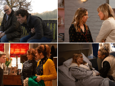 10 Emmerdale spoilers: Paddy and Chas baby agony, Marlon illness, Kim caught