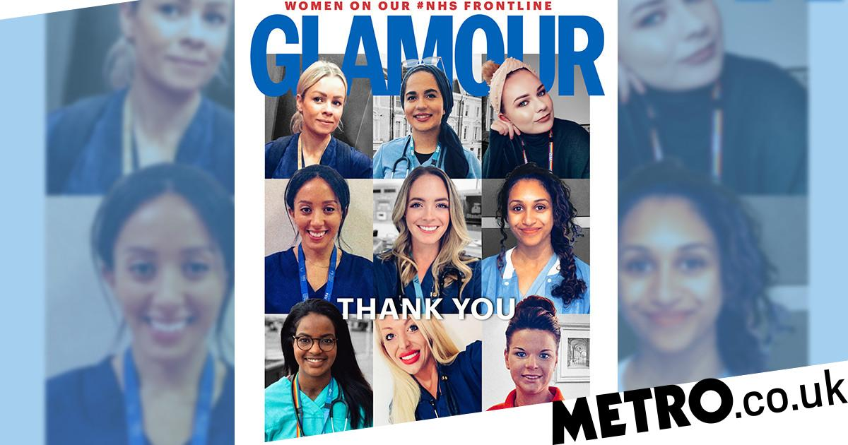 Glamour replaces celebs with NHS heroes as they battle coronavirus