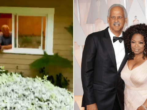 Oprah refuses to let partner Stedman Graham sleep in her bed over coronavirus fears