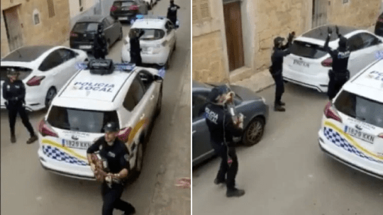 Spanosh police