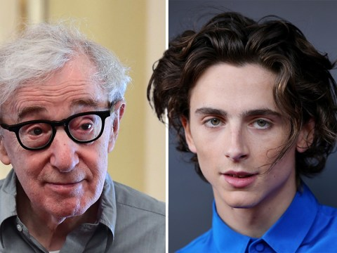 Woody Allen insists Timothee Chalamet only denounced him to win an Oscar