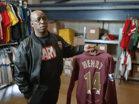 Ian Wright reveals Thierry Henry's biggest worry before joining Arsenal