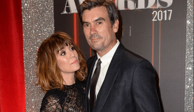 Zoe Henry and Jeff Hordley in Emmerdale