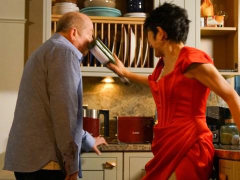 Coronation Street spoilers: Yasmeen Nazir kills Geoff Metcalfe as she finally fights back?