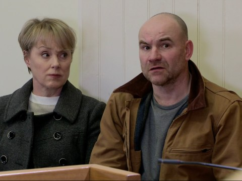 Coronation Street spoilers: Sally Dynevor reveals Tim Metcalfe is 'disgusted' as he discovers the truth about Geoff