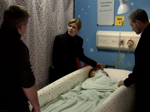Coronation Street spoilers: New pictures reveal that young Oliver will die?