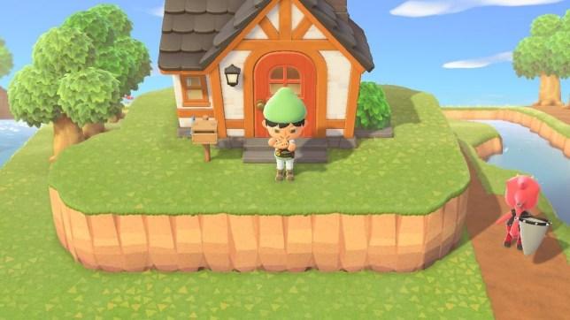 Animal Crossing: New Horizons Zelda map