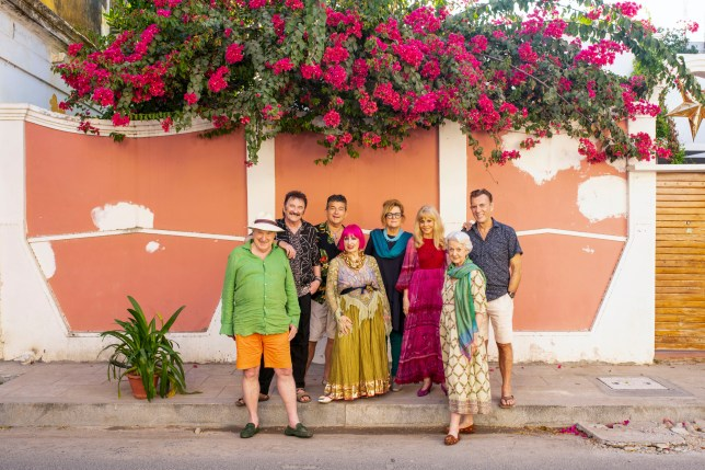 The cast of The Real Marigold Hotel