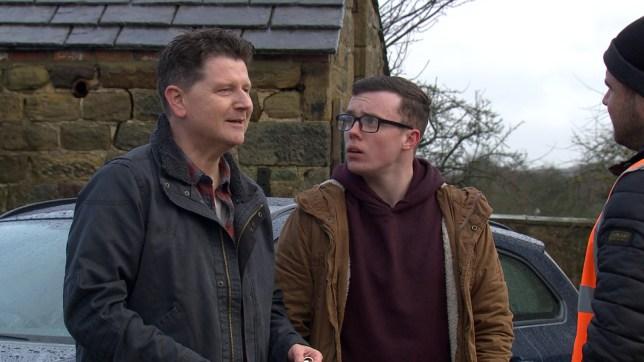 Paul and Vinny in Emmerdale