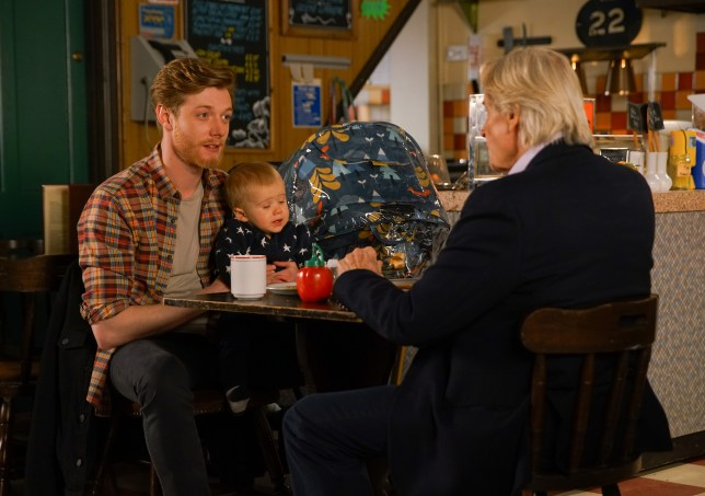 Daniel and Ken in Coronation Street