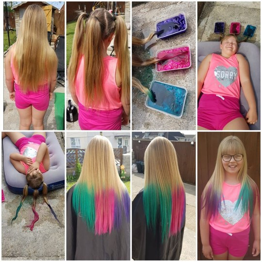 People Are Creating Amazing Dip Dyed Hair With Just Tissue Paper And Water Metro News