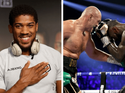 Anthony Joshua says Tyson Fury needs unification fight to prove he's No.1 and teases Deontay Wilder