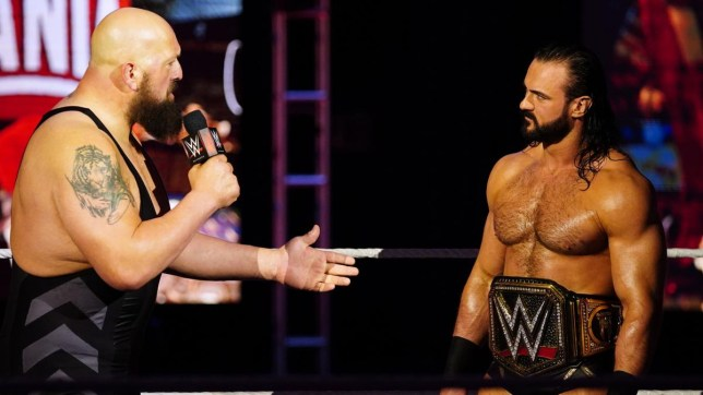 WWE champion Drew McIntyre faces The Big Show on Raw