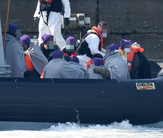 35 Migrants Intercepted Trying To Cross English Channel