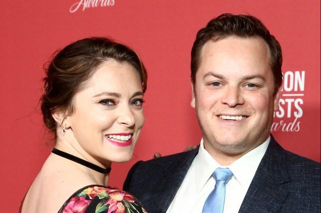 Rachel Bloom and husband