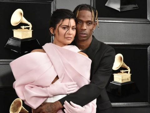 Kylie Jenner and ex Travis Scott 'loving family life together' as they co-parent daughter Stormi