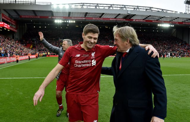 Steven Gerrard sends message to Kenny Dalglish amid coronavirus ...