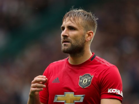 Luke Shaw explains why Paul Pogba is the toughest player to train against at Manchester United