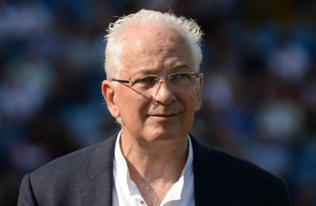 Former England batsman and captain David Gower