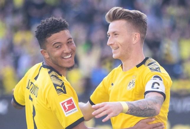 Borussia Dortmund stars Jadon Sancho and Marco Reus