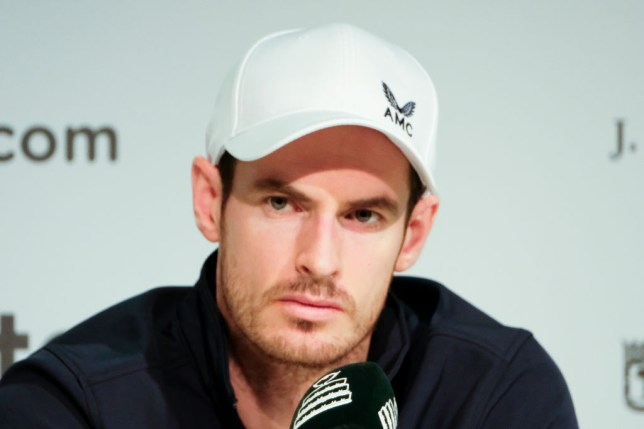 Andy Murray during the Press conference during Day 3 of the 2019 Davis Cup at La Caja Magica on November 20, 2019 in Madrid, Spain (Photo by Oscar Gonzalez/NurPhoto via Getty Images)