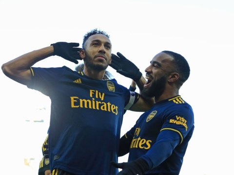 Pierre-Emerick Aubameyang and Alexandre Lacazette name their most skillful team-mate