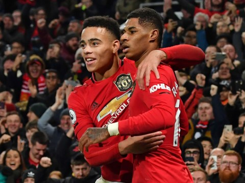 Mason Greenwood's 'natural ability' is scary, says Marcus Rashford