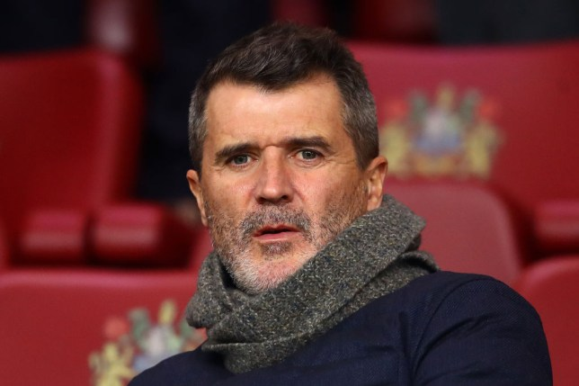 BURNLEY, ENGLAND - DECEMBER 03: Roy Keane looks on during the Premier League match between Burnley FC and Manchester City at Turf Moor on December 03, 2019 in Burnley, United Kingdom. (Photo by Chris Brunskill/Fantasista/Getty Images)