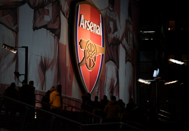 Shot of the Emirates in Arsenal