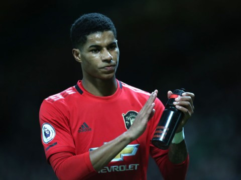 Marcus Rashford selects one current teammate in his all-time Man Utd six-a-side team
