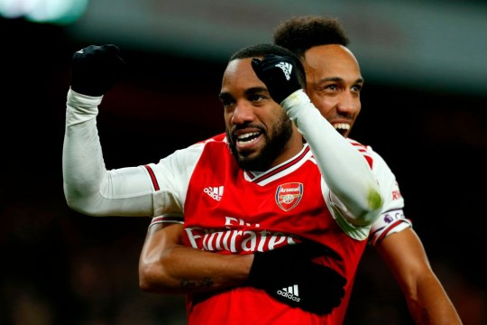 Alexandre Lacazette has been heavily linked with a move away from Arsenal