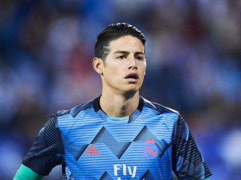 Colombia legend Faustino Asprilla tells James Rodriguez to join Manchester United