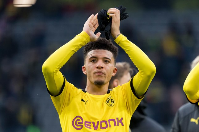 Manchester United transfer target Jadon Sancho after Borussia Dortmund's Bundesliga clash with Freiburg
