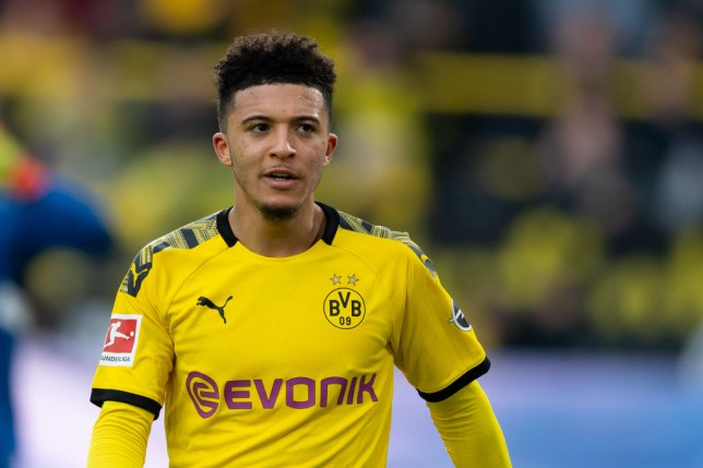 Jadon Sancho is keen on joining Manchester United (Picture: Getty)