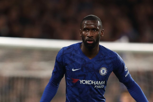 LONDON, ENGLAND - MARCH 03: Antonio Rudiger of Chelsea during the FA Cup Fifth Round match between Chelsea FC and Liverpool FC at Stamford Bridge on March 3, 2020 in London, England. (Photo by James Williamson - AMA/Getty Images)