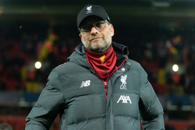 Jurgen Klopp is pictured after a Liverpool game