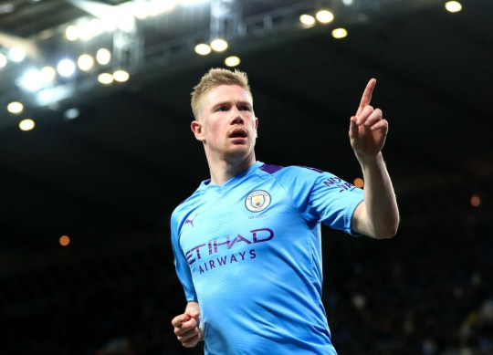 Carragher has hailed Manchester City playmaker Kevin de Bruyne