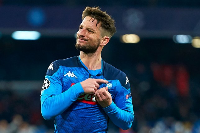 Napoli star Dries Mertens has been linked with Chelsea