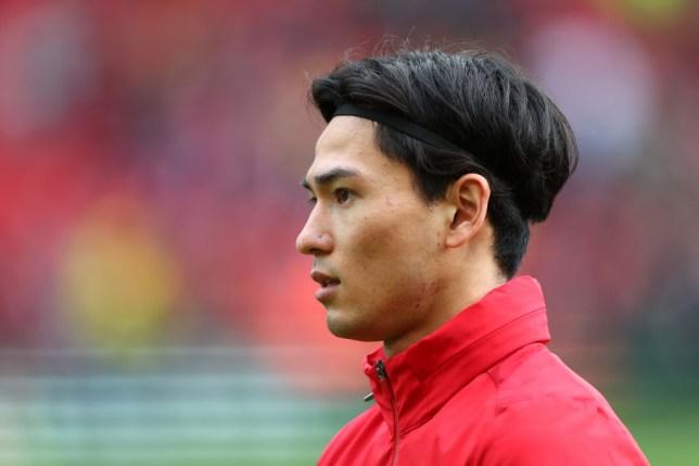 Takumi Minamino joined Liverpool from Red Bull Salzburg in January