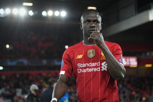 Sadio Mane after Liverpool's Champions League defeat to Atletico Madrid
