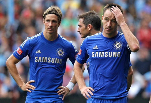 John Terry says Fernando Torres' confidence was 'shot to bits' after his first game for Chelsea