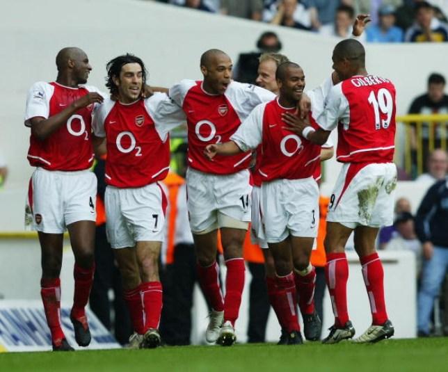 Arsenal players
