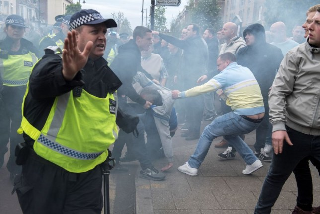 Police chiefs are concerned the return of Premier League football could see fans flout social distancing guidelines