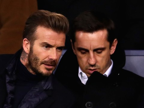 Gary Neville reveals what he told David Beckham before he left Manchester United