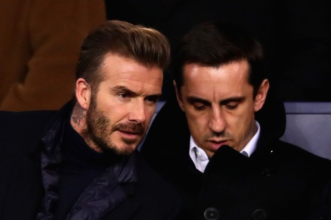 Gary Neville attempted to convince David Beckham to stay at Manchester United