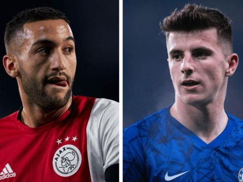 Chelsea star Mason Mount excited to play alongside 'amazing' Hakim Ziyech