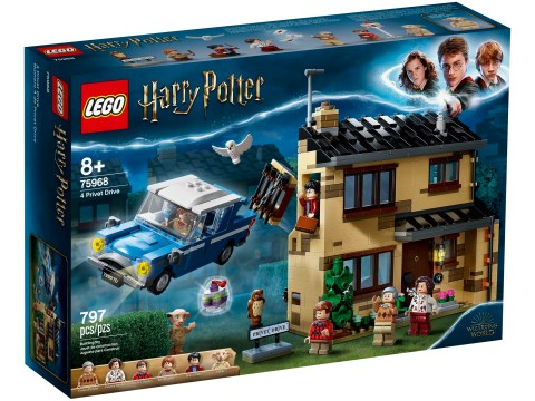 New Lego Harry Potter toys add Privet Drive set and a life-size Hedwig